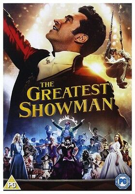 The Greatest Showman DVD New 2018 Region 2