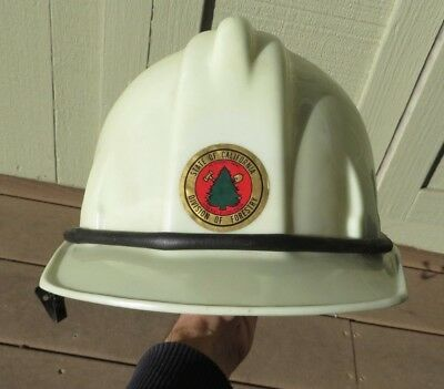 Vintage WELSH Manufacturing CDF California Department Forestry Hard Hat