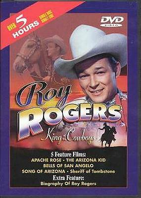 Roy Rogers: King Of The Cowboys - 2 DVD COLLECTOR'S EDITION EMBOSSED TIN!, Good