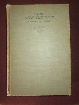 FIRST EDITION 1936 GONE WITH THE WIND BOOK By Margaret Mitchell