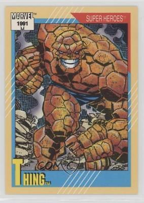 1991 Impel Marvel Universe Series 2 #3 Thing Non-Sports Card 0ls