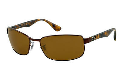 b8b3fa5398 Ray Ban RB3478 014 57 Havana Brown Frame Brown Polarized 60mm Lens  Sunglasses