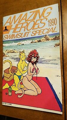 Amazing Heroes Swimsuit Special 1990