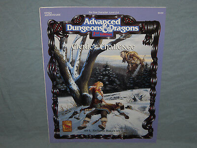 AD&D 2nd Ed Module -  HHQ4 CLERIC'S CHALLENGE  (HARD TO FIND and UNUSED - EXC+!)