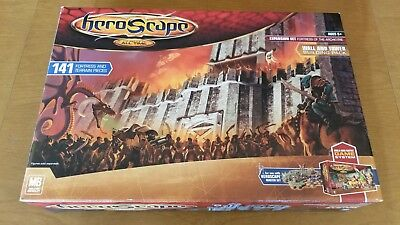 Heroscape Fortress of the Archkyrie Set  - Never Used - 141 Piece, Wall, Tower