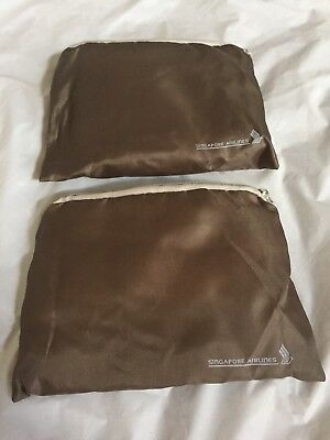 2 Singapore Airlines Amenity Kit Bags