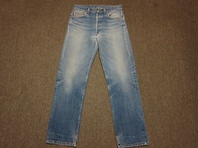 006ad2cb7ee VTG Levis 501 Button Fly Faded Denim Mom Jean Pants Blue 31 x 33 29 x