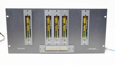 Dorrough 5.1 SUR6-5RU Surround 5x 340-C 1x 240-C Loudness Monitors Power Supply