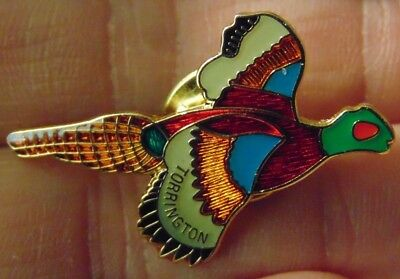 [PIN] Ringneck Pheasant Torrington (Wyoming) Small Town Collectible Lapel Pin