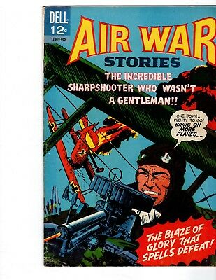 Air War Stories #7 (1966) Dell Comics  Vgf