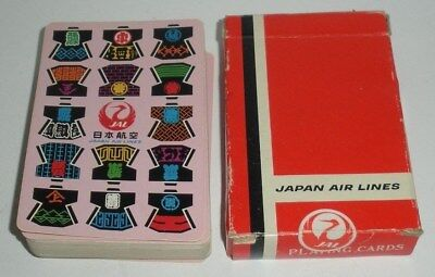 Japan Air Lines Playing Cards