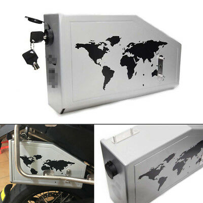 Aluminum 4.2L Tool Box Fit For 2013-2018 BMW F700GS F800GS Right Side Bracket