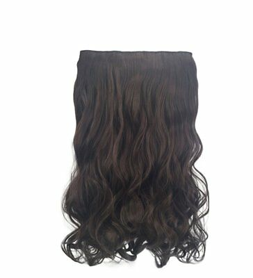 Natural Black Curly Hair Piece Extension Hidden Invisible Wire Piece Secret Hair