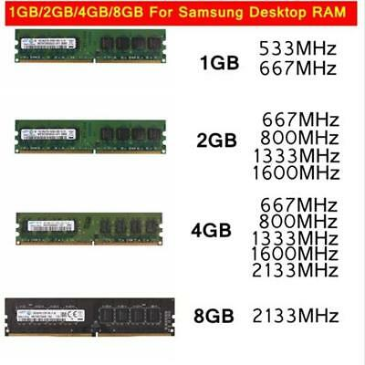 Sale For 1/2/4/8GB DDR2 DDR3 553 667 800MHZ 1066 1333 1600MHZ Memory Lot AU