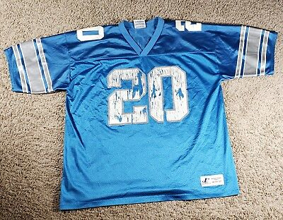 a01a2202e Vintage Detroit Lions Barry Sanders Nike NFL Football Jersey XL RARE. Very  Used.