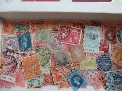 ESTATE SALE: Australia States in box unchecked unsorted Great FREE POST (7968)