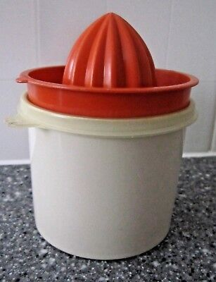 Vintage Tupperware - Lemon juicer. All complete and in good used condition.