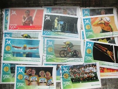ESTATE SALE: Commonwealth Games in tin unchecked heaps -  FREE POST (7945)