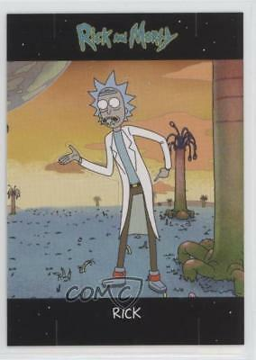 2018 Cryptozoic and Morty Season 1 Standees #E2 Rick Non-Sports Card j7y