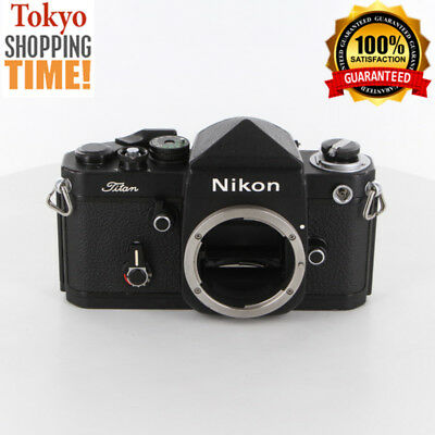 NIKON F2 TITAN with Name Plate Black Body from Japan