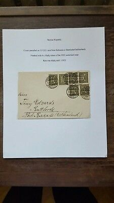 Stamps Cover Germany Reich Postal History Nice Lot Gg/13
