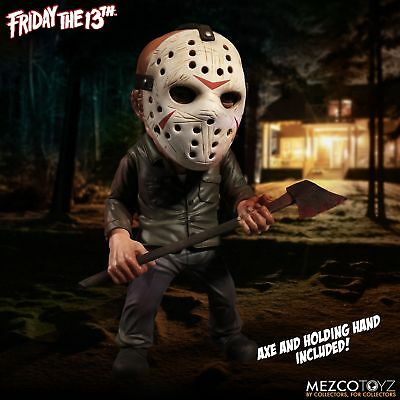 MEZCO - FRIDAY THE 13th  - JASON VOORHEES DELUXE STYLIZED ROTO FIGUR - NEU/OVP