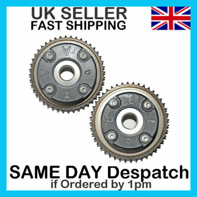 For Mercedes 2003-2005 C230 W203 1.8L M271 Pair Camshaft Adjusters Vanos A+E Hub