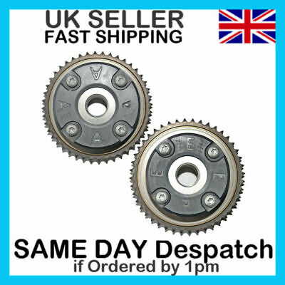 X2/Pair For Mercedes M271 Clk200 E200 Slk200 Sprockets Timing Camshaft Gears A+E