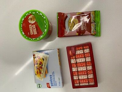 Coles Little Shop Christmas addition -(singles) FREE POSTAGE -Wanted Minis!