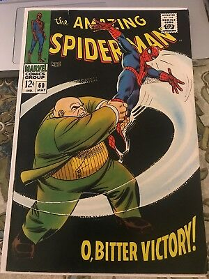 The Amazing Spider-man #60 Nice Silver Age Early Spider-man Comic Book