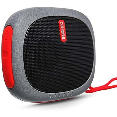 Bluetooth Portable Speakers Speakers, ZENBRE D3 Mini Wireless With 20 Hours Play
