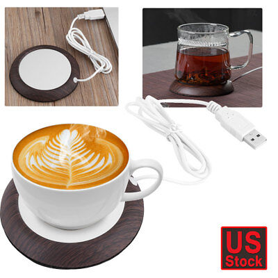Electric Mug Beverage Warmer Cup Heater Pad for Coffee Tea Soup Home Office US