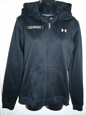 Under Armour Size Large Womens Hoodie Canadian Curling Black Long Sleeve