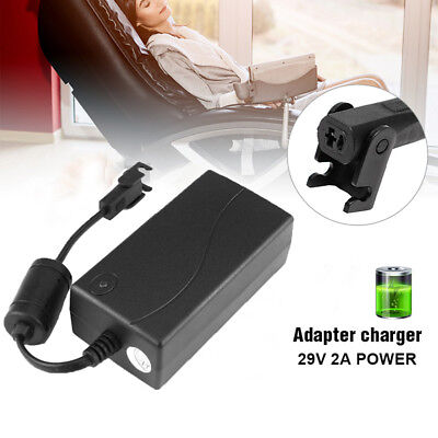 29V 2A 3Pin Electric Recliner Sofa Chair Adapter Transformer Power Supply GB