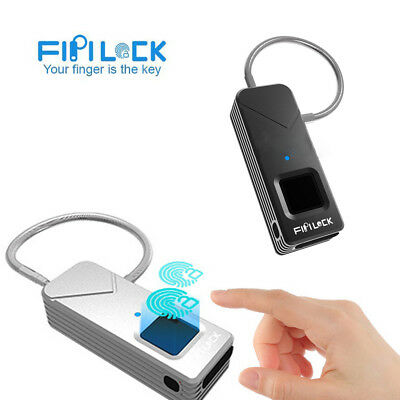Fipilock Fingerprint Smart Keyless Lock Antitheft Padlock Waterproof Safety Lock