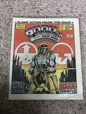 2000AD Progs 371-375 Very Good Condition
