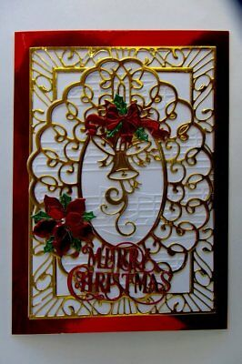 Old Fashioned Vintage Luxury Bespoke Merry Christmas Card for Someone Special