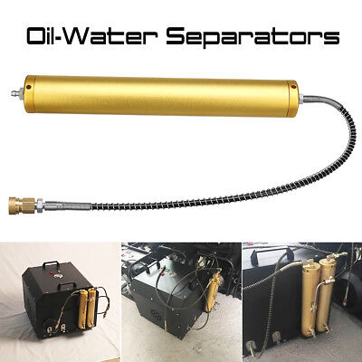 30Mpa PCP Compressor Aluminum Oil-Water Separators With High Pressure Hose 8mm