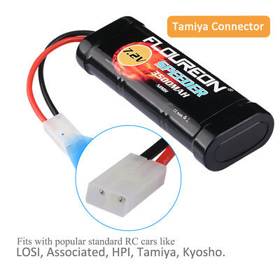 Floureon 7.2V 3500mAh Ni-MH Batterie Flat Pack Female-tamiya Plug pour RC Cars