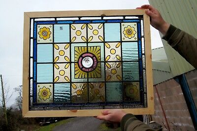 A great painted stained glass window