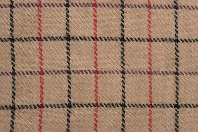 English Check Weave Pure Wool Coating Fabric MV-GH215-Chartreuse-M