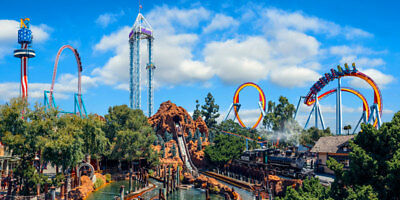 Knotts Berry Farm 1 day General Admission ticket Knott's KBF FREE SHIPPING