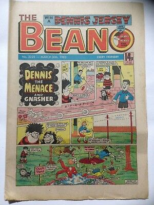 DC Thompson THE BEANO Comic. Issue 2228. March 30th 1985. **Free UK Postage**