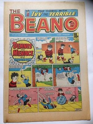 DC Thompson THE BEANO Comic. Issue 2341 May 30th 1987 **Free UK Postage**