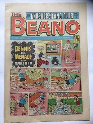 DC Thompson THE BEANO Comic. Issue 2245 July 27th 1985 **Free UK Postage**