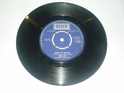 Thin Lizzy - Whisky In The Jar - Original 1972 Issue UK Decca 2-track 17.8cm