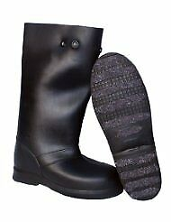 """(Closeout) TREDS 14855 12"""" Pull on Stretch Rubber Overboots Large/XL One Pair"""