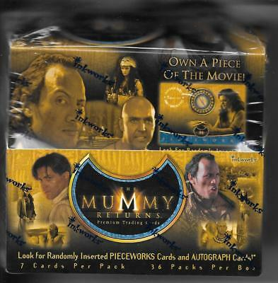 Inkworks The Mummy Returns  2001 Factory Sealed Box