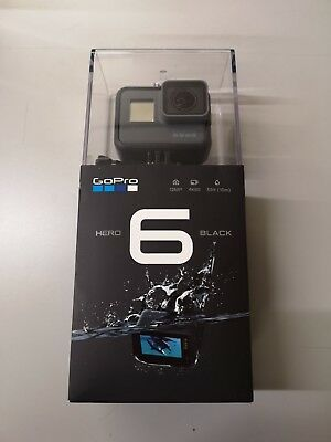 GoPro HERO 6 Black 4K HD Waterproof Camcorder Action Camera | Clearance