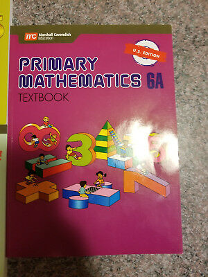 Primary Mathematics 6A Textbook by Thomas H. Parker (2003, Paperback)